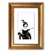East Urban Home Framed Poster Woman from the 1920s | Wayfair.de