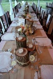 15 merveilleuses idées de tête de table de fleurs pour la décoration de mariage