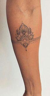Hübsche schwarze Henna Lotus Forearm Tattoo-Ideen für Frauen – Tribal Boho Flower Out … – #boho #flower #Forearm #Frauen #für