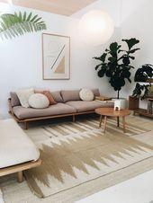12 + Atemberaubende alle natürlichen Home Decor Ideen