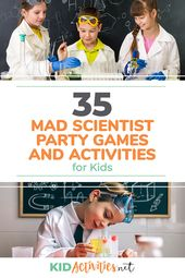 Mad Scientist Party Games and Activities