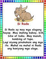 Teacher Fun Files Tagalog Reading Passages 3 Reading Passages Reading Comprehension Kindergarten Preschool Reading