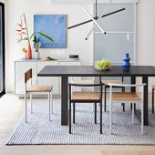 Designer Eric Trine takes us in his home for tour of his colorful, modern space!