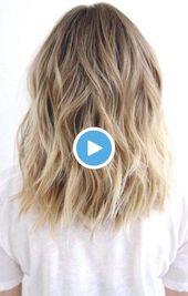 Einfache lange Frisuren – Brautkleider – Hochzeitsfrisuren