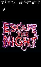 Escape The Night Season 3 Logo Escape The Night Escape Night