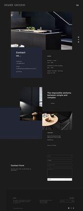 Esta es nuestra inspiración diaria para el diseño del sitio web   – Web / Coding