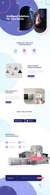 Landing Page UI – Website-design
