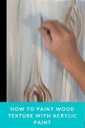 Wie man Herzen auf einer Schnur malt – Tracies Acrylleinwand-Tutorials