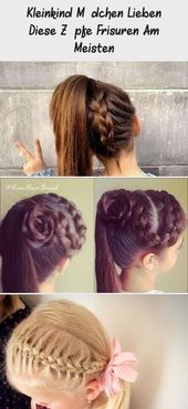 Toddler girl loves these braids hairstyles most