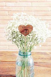 Invitez la gypsophile à votre mariage ! #decoration #fleurs #mariage #blanc