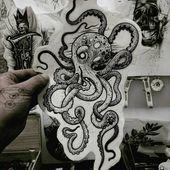"Mister Tattoos on Instagram: "".Some ideas .Follow the page: @mister_tattoos …..   – Octopus Tattoos"