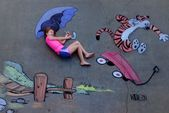 10 Incredible Images That Make You Look at Kids' Sidewalk Chalk in a Whole N…  – Kid Pictures !
