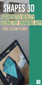 Shapes 3D Augmented Reality Geometry Drawing App  #augmented #drawing #geometry #reality #shapes,