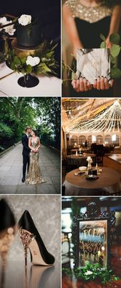 36 Trendy Wedding Decorations Gold And White New Years