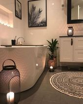 80+ Luxury Small Bathroom Decorating Ideas #bathroomideas #bathroomdesign #bathr…