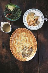 Jamie Oliver's Chicken Pot Pie with Veal Meatballs and Homemade Pastry
