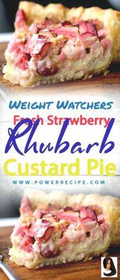 Frische Erdbeer-Rhabarber-Pudding-Torte – Seite 2 – Alles über Ihre Power-Rezepte