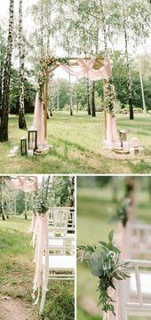 Trauung im Freien: 50 atemberaubende Hochzeits-Settings