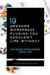 10 großartige WordPress-Plugins, auf die Sie nicht verzichten sollten