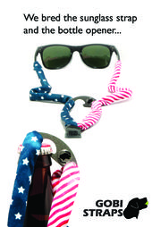 46085bb024f American Flag Bottle Opener Sunglass Straps by Gobi Straps ...