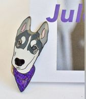 Jules the Husky Puppy Enamel Pin – Huskies – Husky lover – Malamute – Alaska – Rescue Dog – Camp Cocker Rescue – Nonprofit Organization – Cocker Spaniel Jewelry & Pins