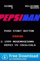 Anyone Remembered This Amazing Game Pepsi Man Man Games Pepsi