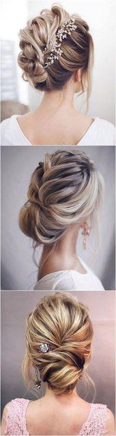 12 So Pretty Updo Hochzeitsfrisuren von TonyaPushkareva – Site Today