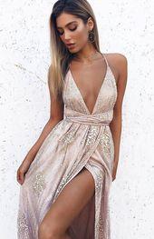 Madeline Formal Dress Rose Gold – 6