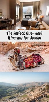 The perfect one-week itinerary for Jordan with a map! Jordan is one of the most …