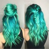 71 Ideas for Green Hair Dye That You Will Love – Hairstyles – Trend Hairstyles – Hair Model