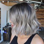 Verbessere Dein Haar mit Schattenwurzeln Diesen Winter #frisuren #neuefrisuren #frisurentrends #frisurentrend2018 #friseur #diesen #schattenwurzeln #v…
