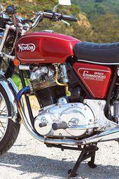 Der letzte Pfadfinder: 1975 Norton Commando 850 Mark III – Klassische britische Motorräder   – Motorcycles #1