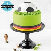 Die Fußballweltmeisterschaft steht vor der Tür. Ein Kuchen ist der Höhepunkt von …   – Koch- und Backrezepte