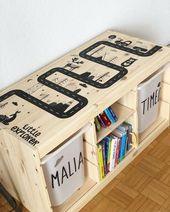 """Mädchentipps auf Instagram: """"Meine Version der TROFAST-Möbel von Ikea! T … -… – Henri"""