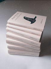 Harry Potter – couvertures de livre minimalistes. Collection de livres. Jaquettes  – Harry Potter Minimalistic Book Covers