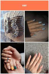 rostige Nägel zur eindeutigen Hausnummer – #Detournement #House #nails #number …