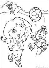 Dibujos De Dora La Exploradora Para Colorear En Colorear Net Dora Coloring Preschool Coloring Pages Cartoon Coloring Pages