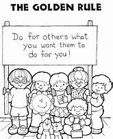Image Result For Golden Rule Do Unto Others Coloring Page