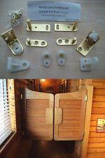 Double Acting Cafe Door Gravity Pivot Hinge Hardware Set in Polished Brass Saloon Bar Pub Western Swinging Doors Cafe Door Hinges by Cafe Doors Emporium