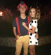 14 Affordable & Cute DIY Halloween Costumes for Couples | Ecemella #couplehallow…