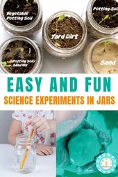 Simple and Spectacular Science Experiments in a Jar – #experiments #science #simple #spectacular – #…