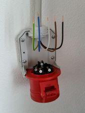 Ein Stromanschluss – Kraftstromanschluss Ein Stromanschluss – # el …