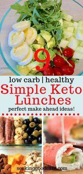 Schnelle und einfache Keto-Lunch-Ideen – Ketogenic
