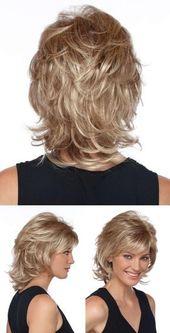 Bom na foto: corte de cabelo médio descascado ⋆ De frente para o mar …   – Haar ideen