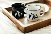 Mr and Mrs Mugs, Wedding Gift, Mr and Mrs Campfire Mug, Camp Mug, Cute Mugs, Newlywed Gift, Couples Mugs, His and Hers Mug. Mr and Mrs Mugs – Achis Ideas