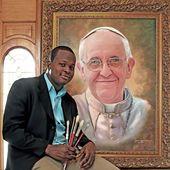 Papa Francisco – El famoso artista   – PAPA FRANCISCO