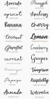Wählen Sie Schriftarten für Logos eine wichtige Aufgabe