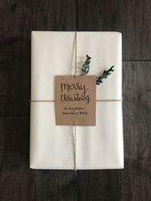 DIY Weihnachtsverpackung #christmas #verpackung