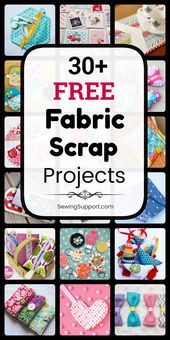 Free Sewing Projects using Fabric Scraps – Nähen