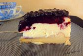 Ich hab Appetit auf … : New York Cheesecake mit Blueberry- Topping